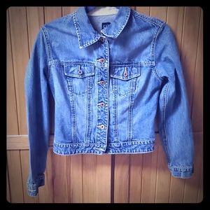 Women's Gap Denim Jean Jacket/Coat Size Small